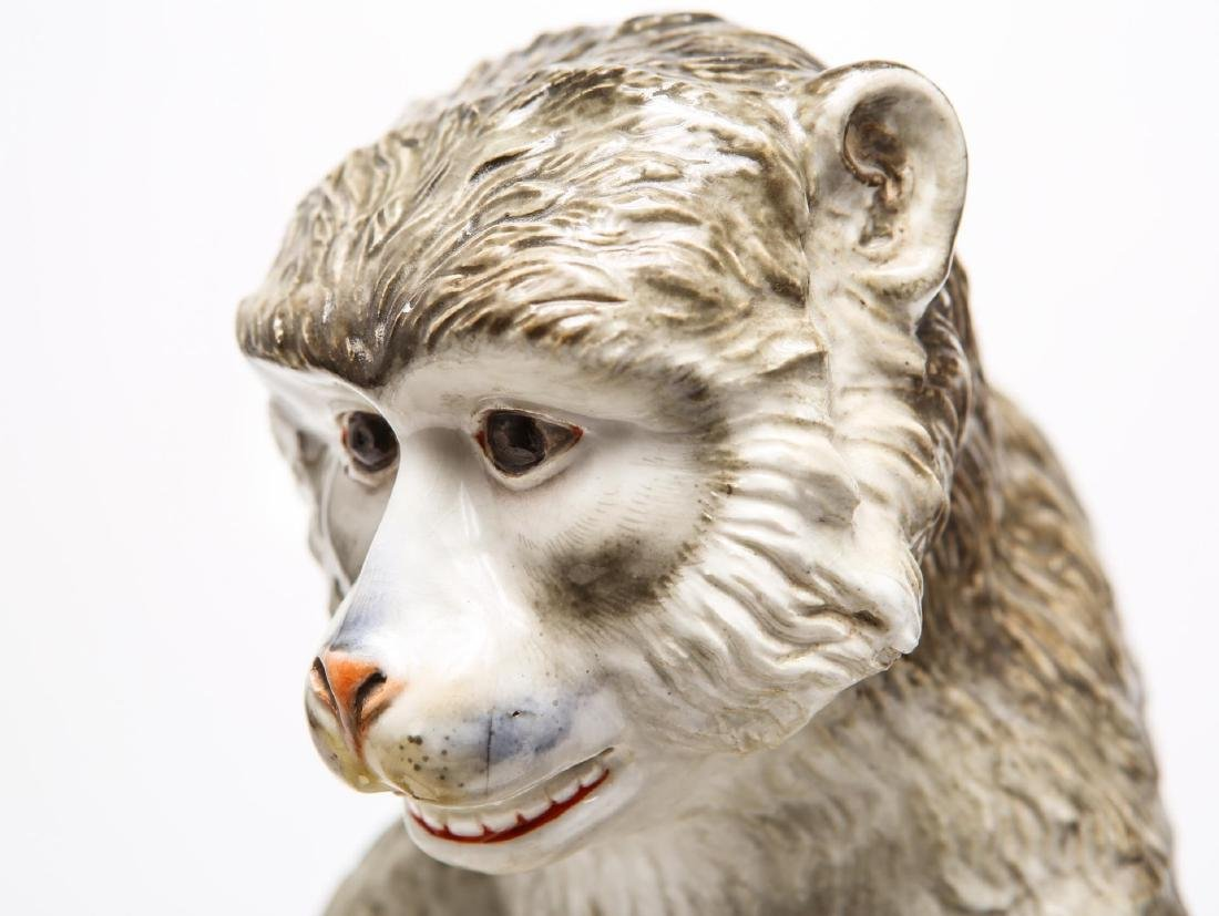 After JJ Kandler Meissen-Manner Porcelain Monkey - 9