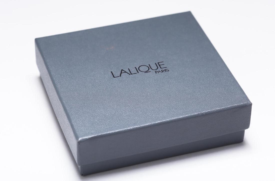 Lalique Glass Perfume Bottle, Anemone Flowers - 5