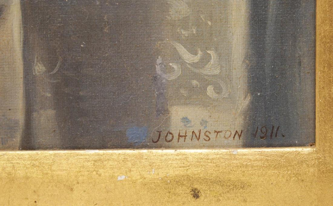 Ron Johnston (American, 20th C.)- Oil on Board - 3