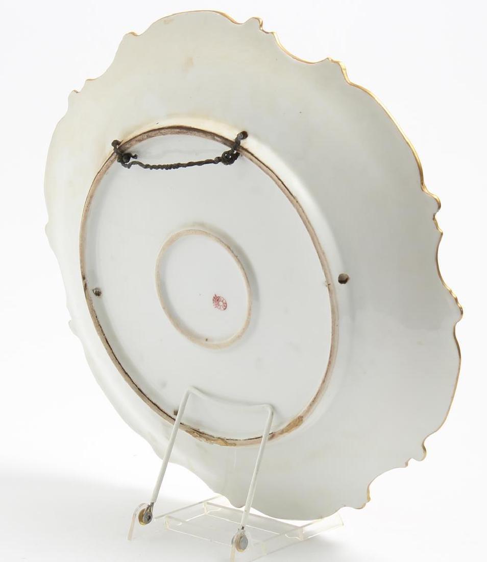 "Limoges Porcelain ""Wood Duck"" Cabinet Plate - 2"