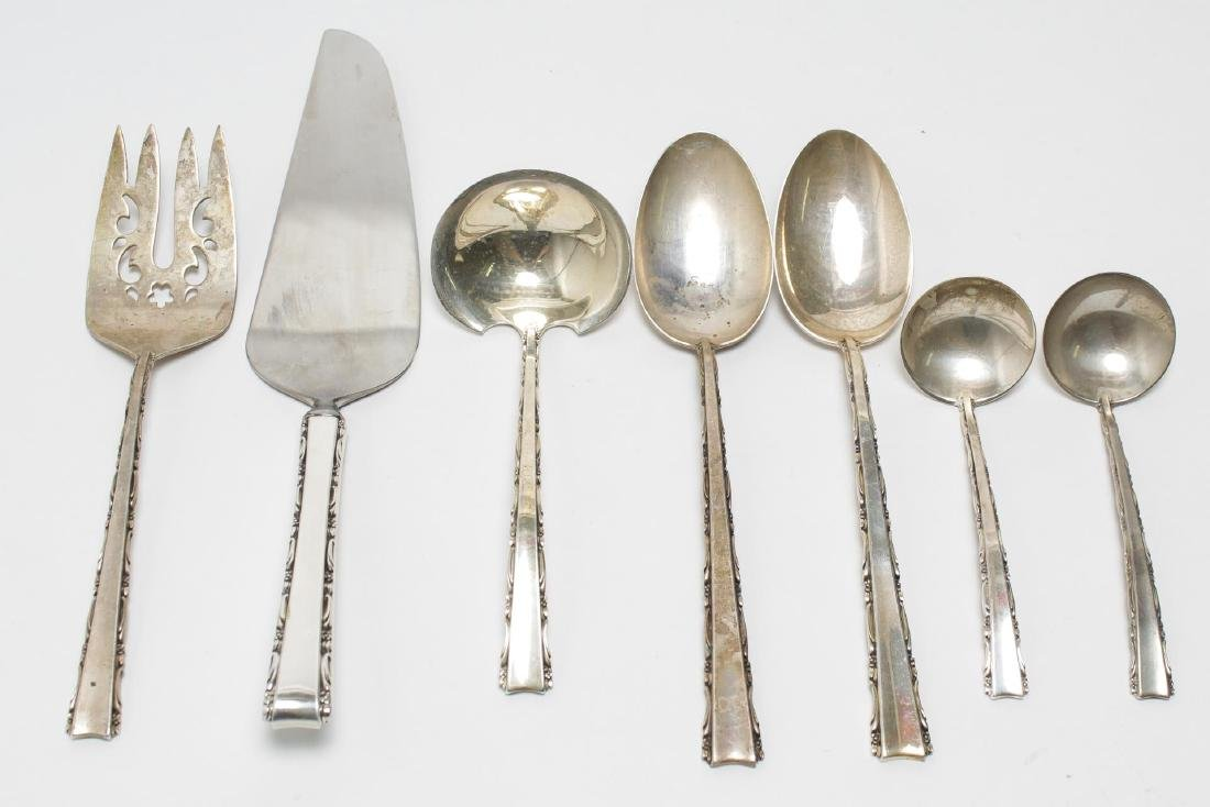 "Lunt ""Madrigal"" Sterling Silver Serving Utensils"