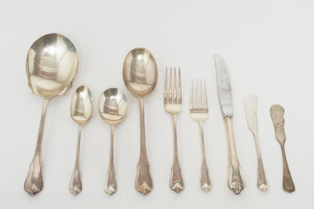Wallace Sterling Silver Flatware Service for 8