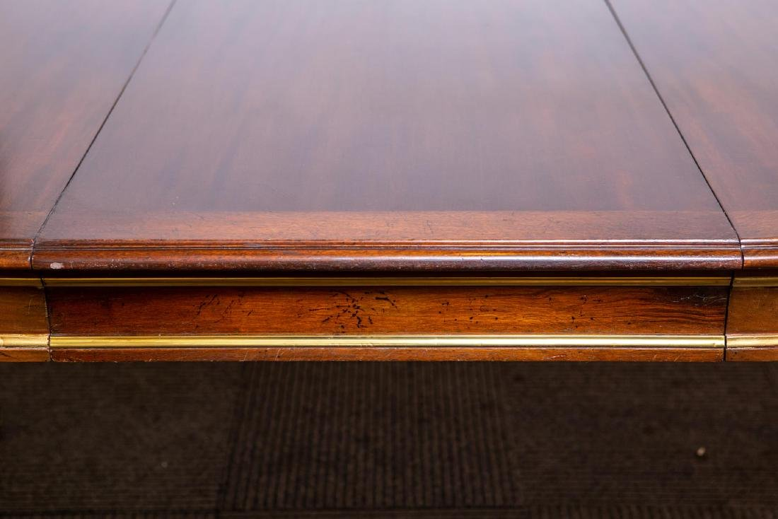 Louis XVI-Manner Antique Dining Table, Mahogany - 3