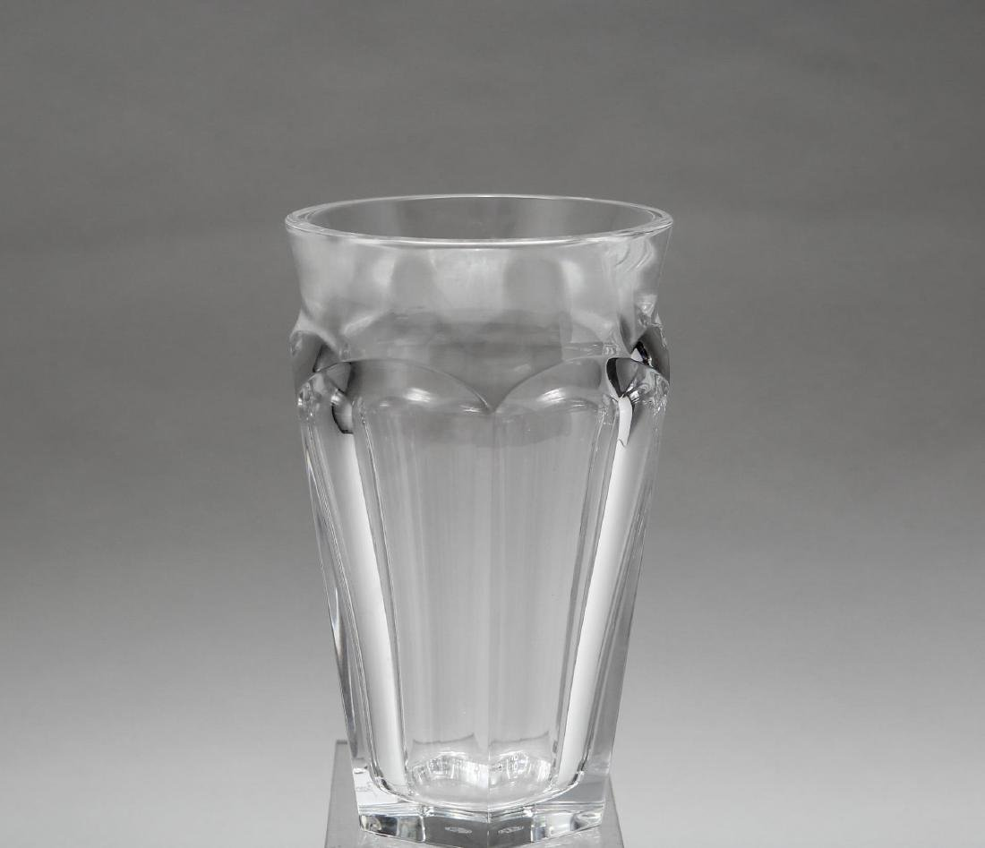 "Baccarat Crystal ""Nelly"" Hexagonal Vase"
