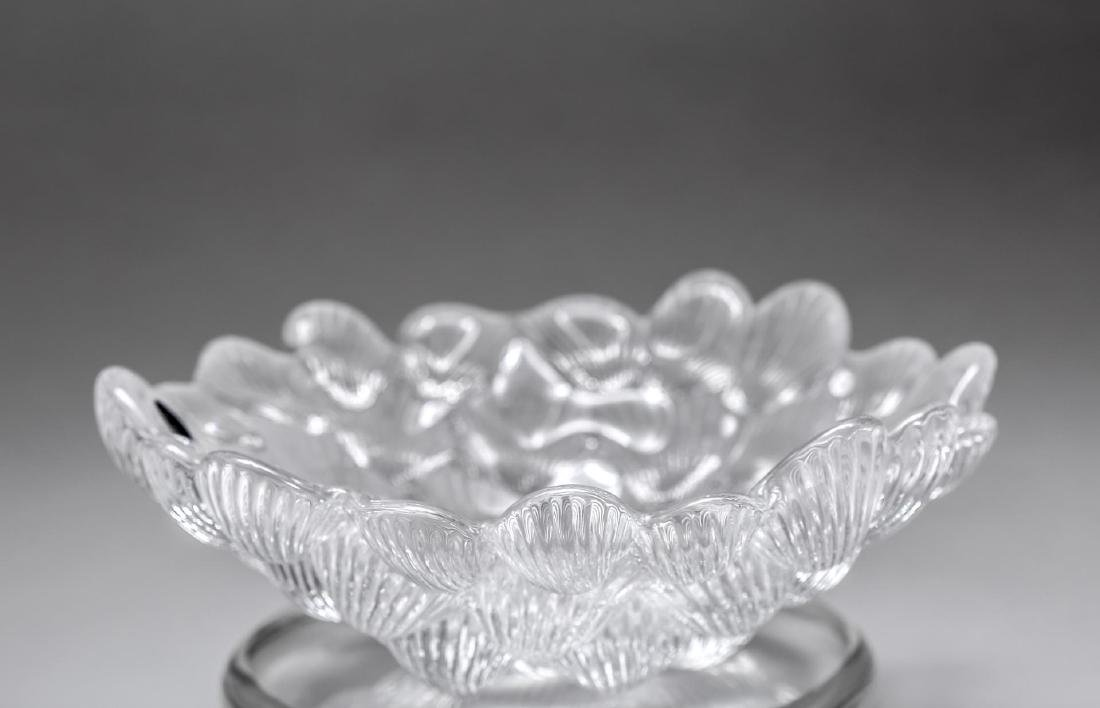 "Royal Copenhagen Crystal ""Musling"" Bowl"