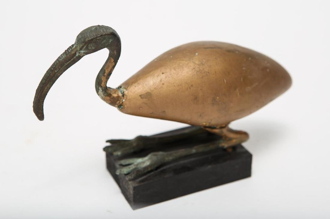 Ancient Egyptian-Manner Ibis Sculpture