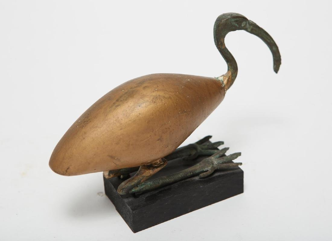 Ancient Egyptian-Manner Ibis Sculpture - 2