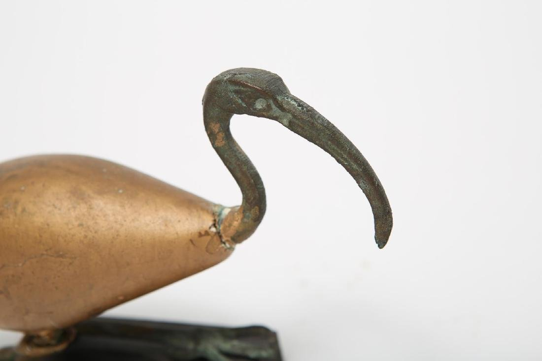 Ancient Egyptian-Manner Ibis Sculpture - 3