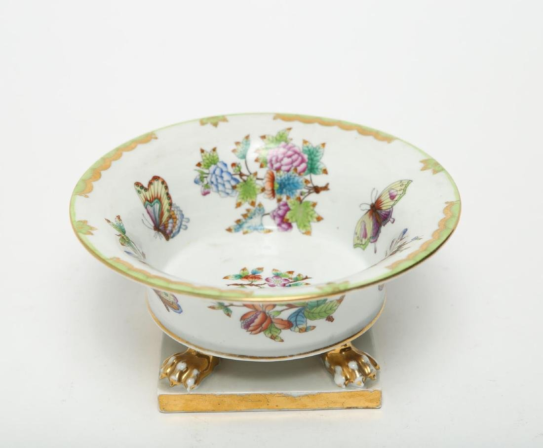 """Herend Hungary Porcelain """"Queen Victoria"""" Bowl - 2"""