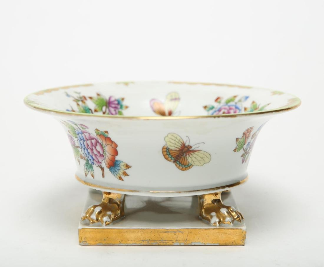 """Herend Hungary Porcelain """"Queen Victoria"""" Bowl - 3"""