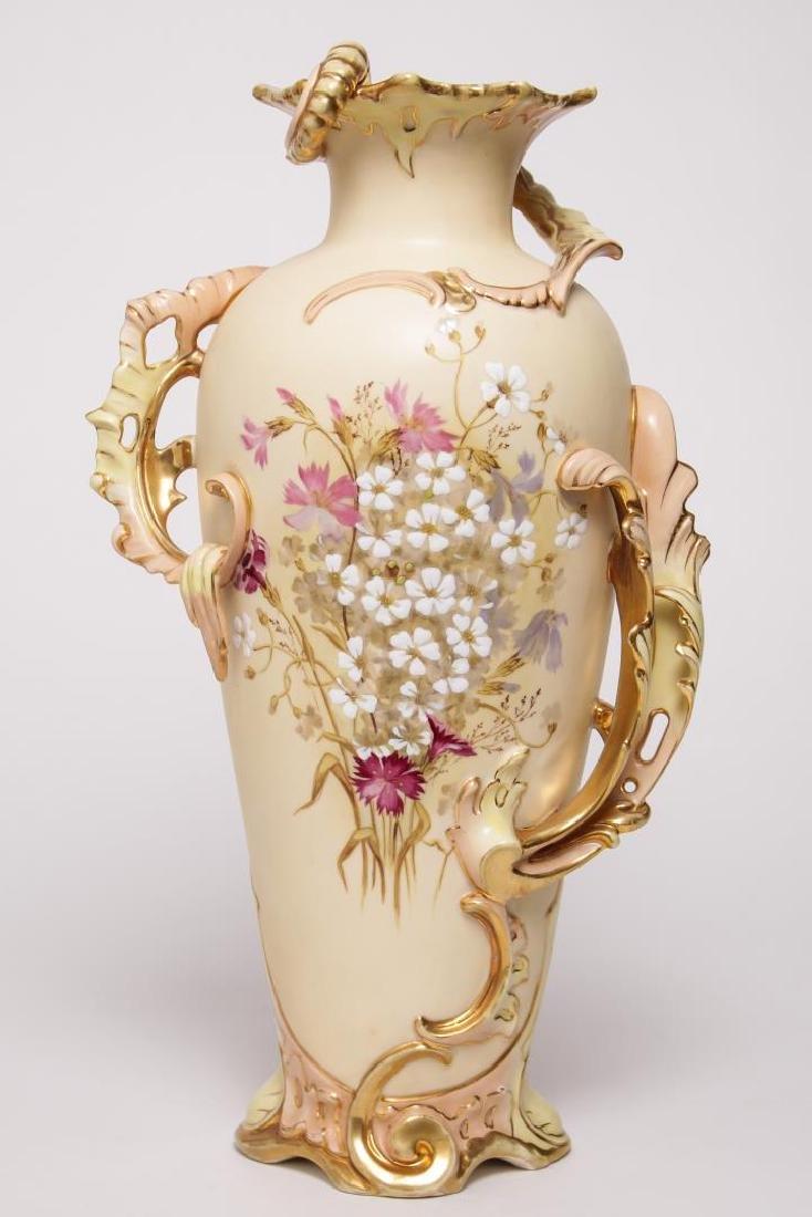Robert Hanke Royal Wettina Austrian Porcelain Vase