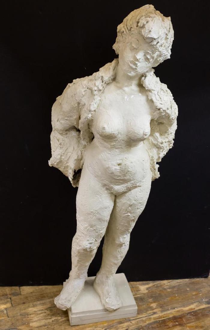 Modern Female Nude Sculpture, Composite