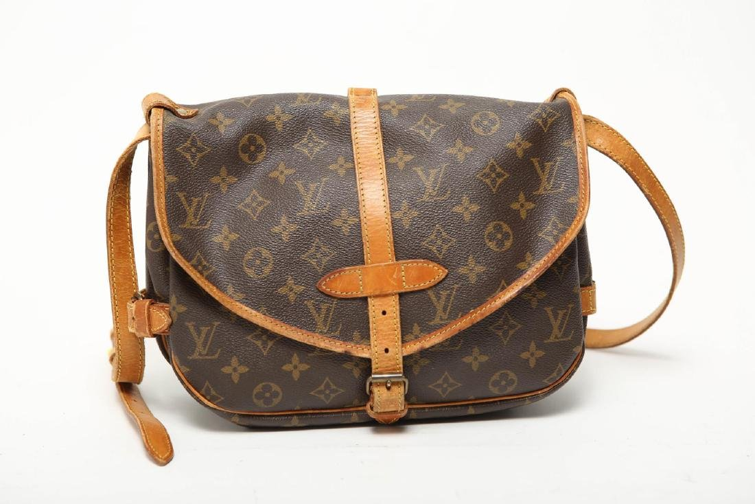 """Louis Vuitton """"Saumur 30"""" Bag, Monogram Canvas"""