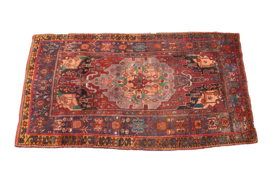 Persian Wool Rug, 4' X 8'