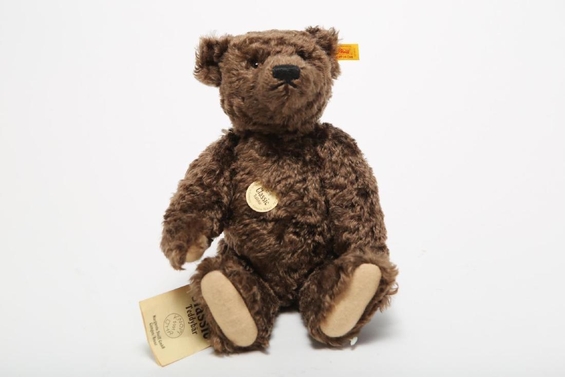 """Vintage Steiff """"1920"""" Mohair Teddy Bear, with Tags"""