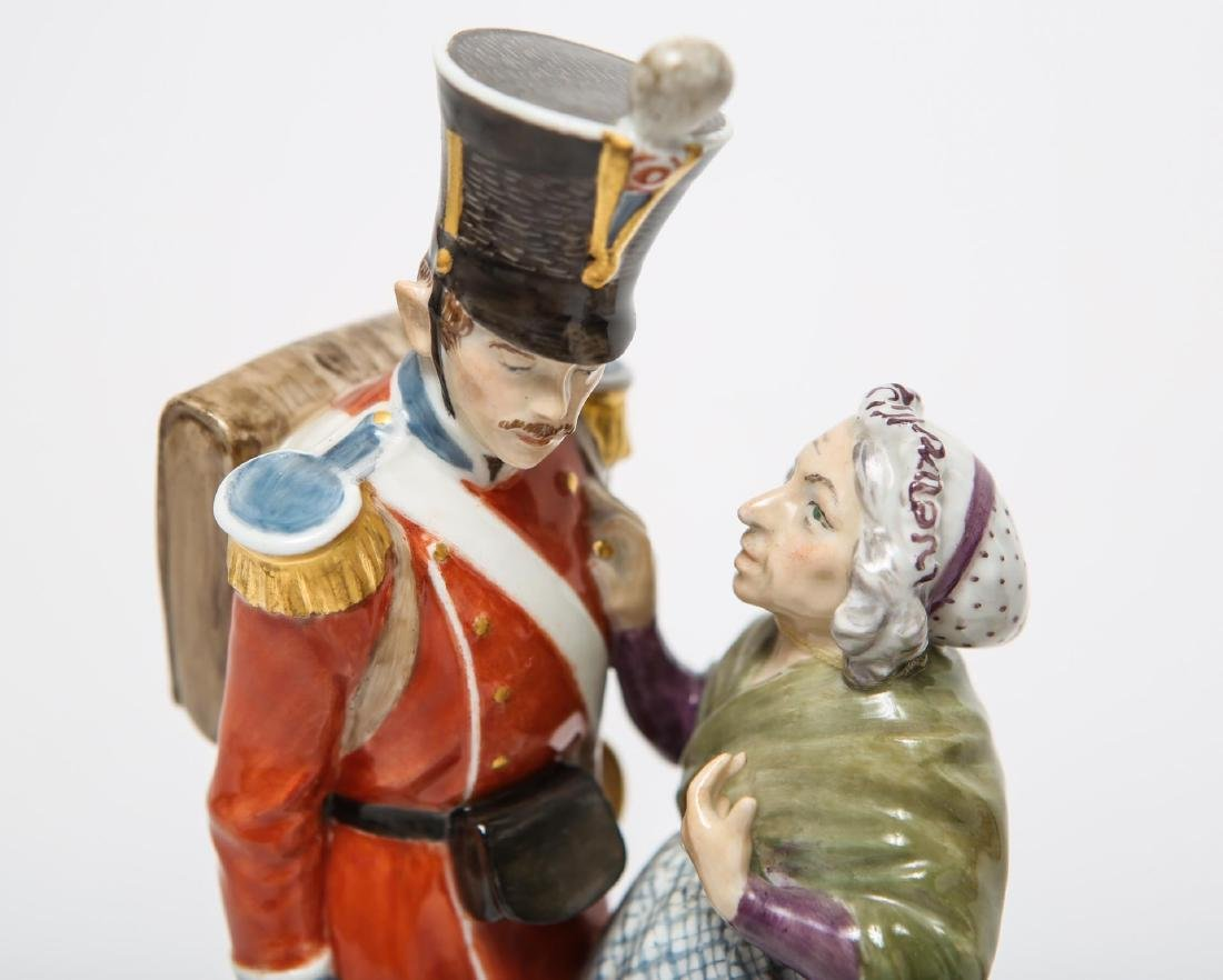 Royal Copenhagen & Dresden Soldier Figurines - 2