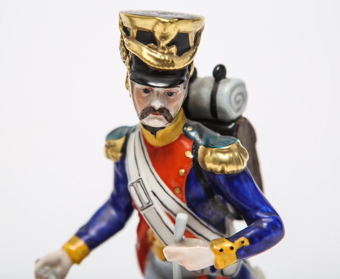 Royal Copenhagen & Dresden Soldier Figurines - 3