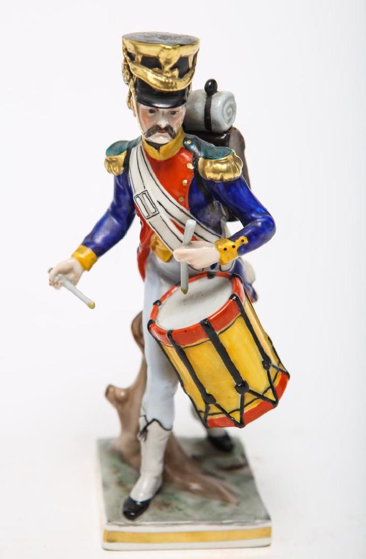 Royal Copenhagen & Dresden Soldier Figurines - 4