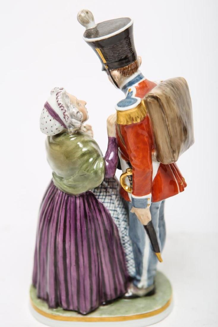 Royal Copenhagen & Dresden Soldier Figurines - 5