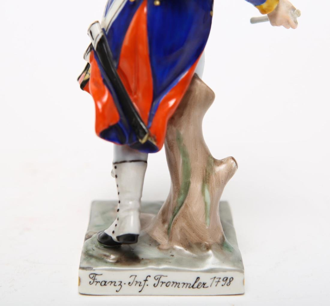 Royal Copenhagen & Dresden Soldier Figurines - 7