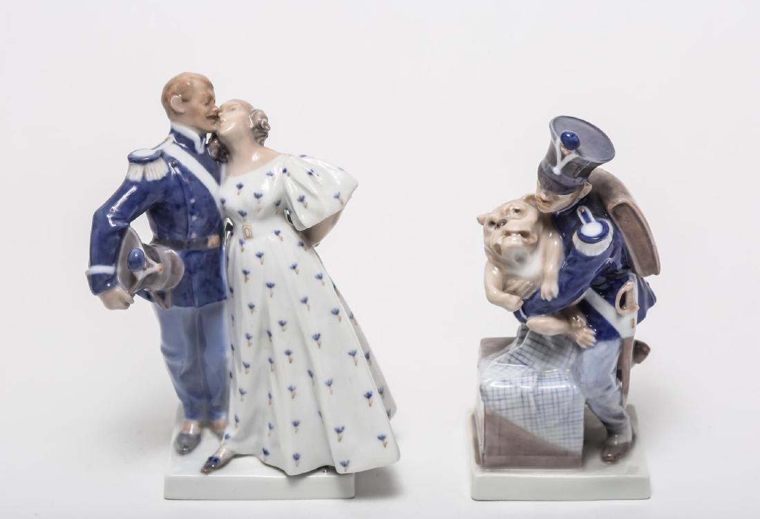 Royal Copenhagen Porcelain Figurines, 2