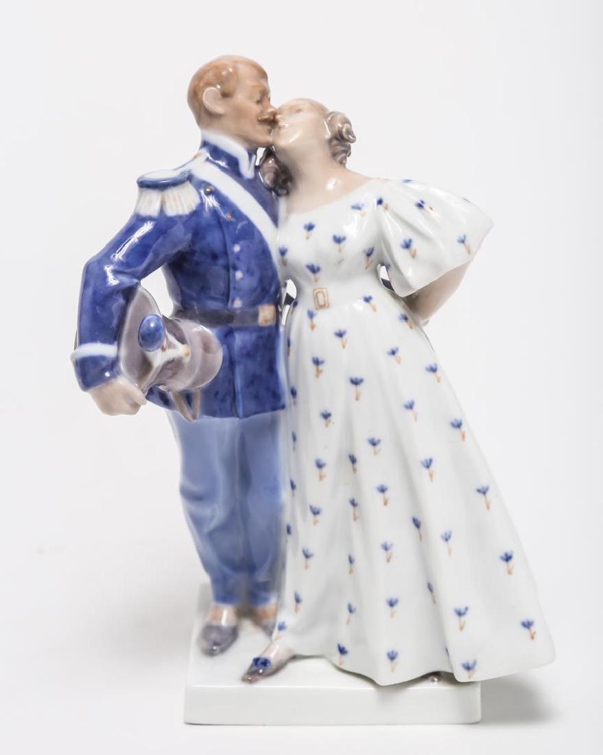 Royal Copenhagen Porcelain Figurines, 2 - 7