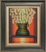 Gabriel Cohen Israeli 19332017 Oil on Canvas
