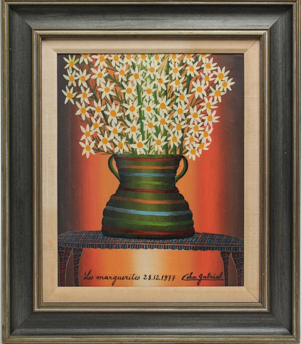 Gabriel Cohen (Israeli, 1933-2017)- Oil on Canvas