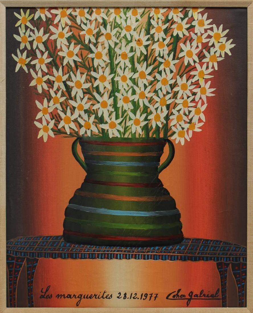 Gabriel Cohen (Israeli, 1933-2017)- Oil on Canvas - 2
