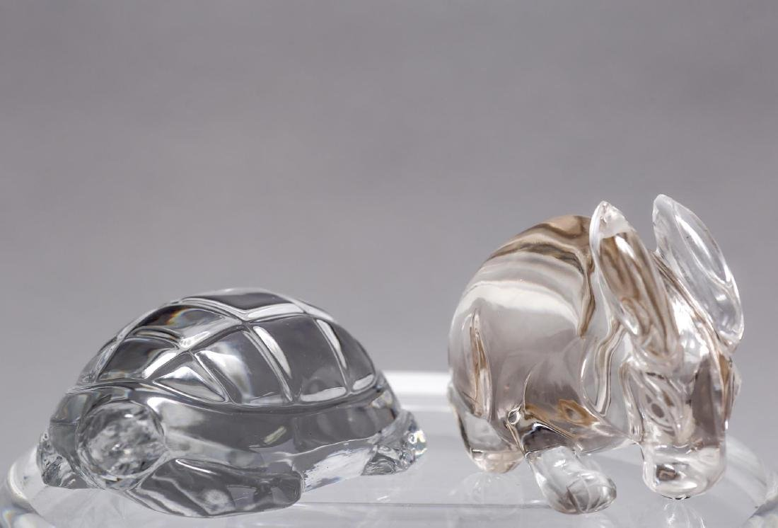 Baccarat & Other Crystal Animal Paperweights, 2