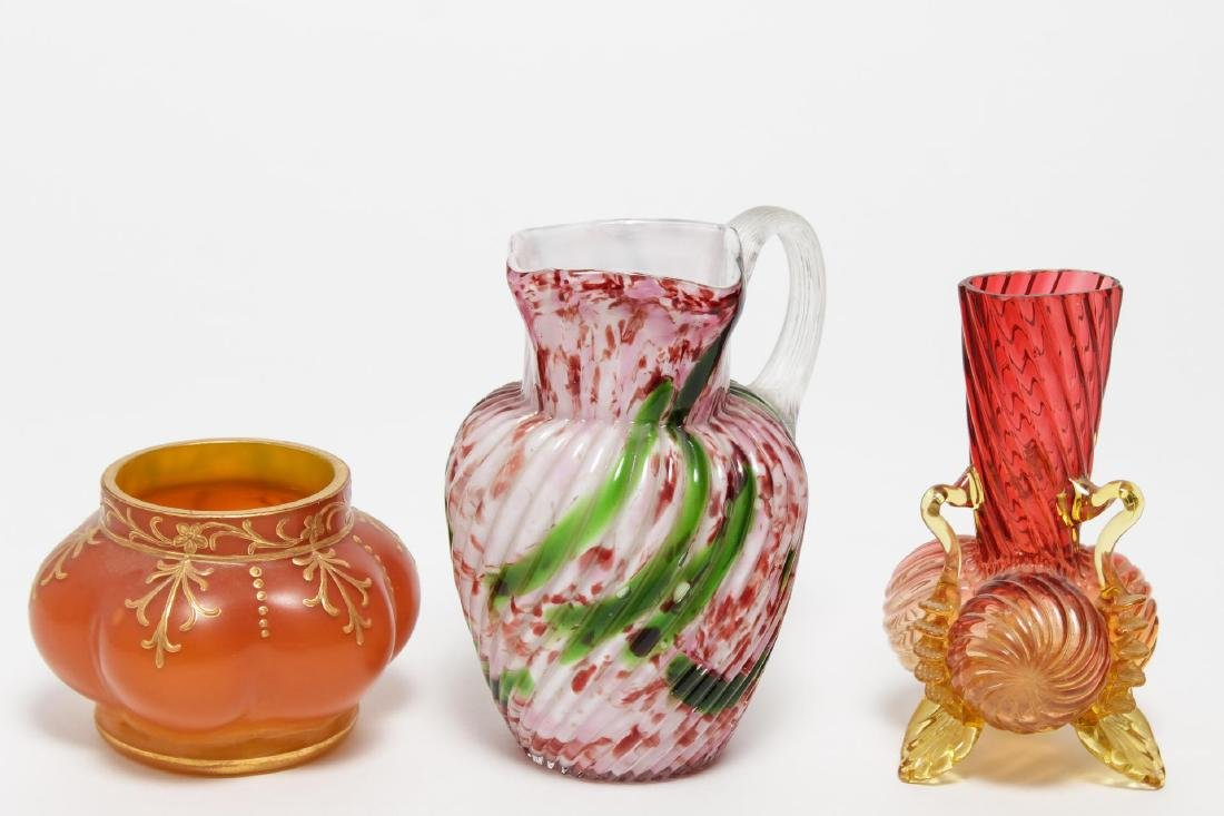 Vintage Art Glass, including Murano, 3 Pieces