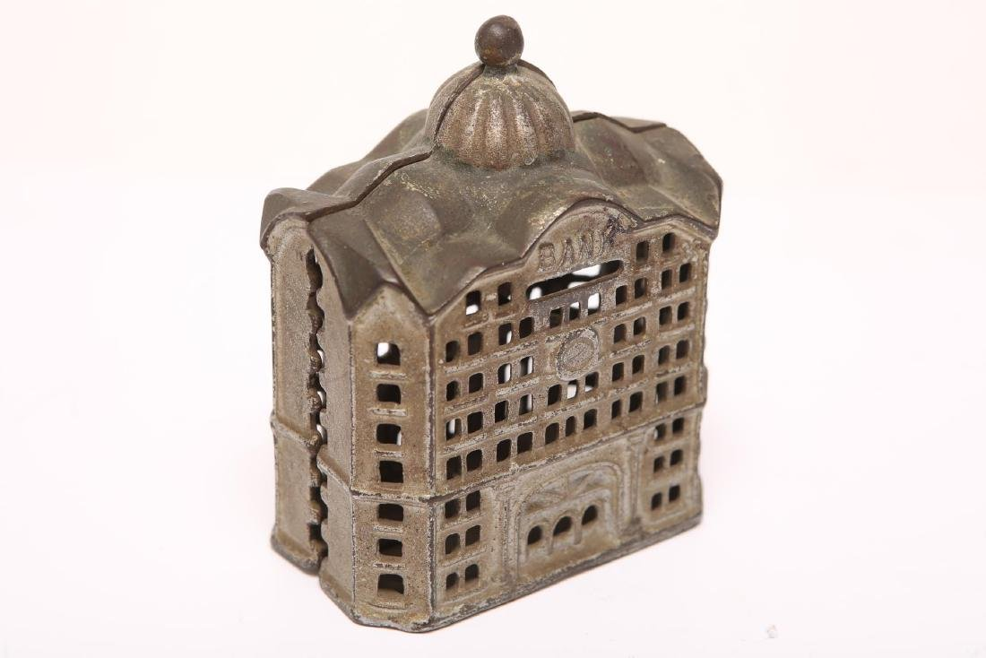Cast Iron Still Penny Bank, Painted, 19th/20th C - 3