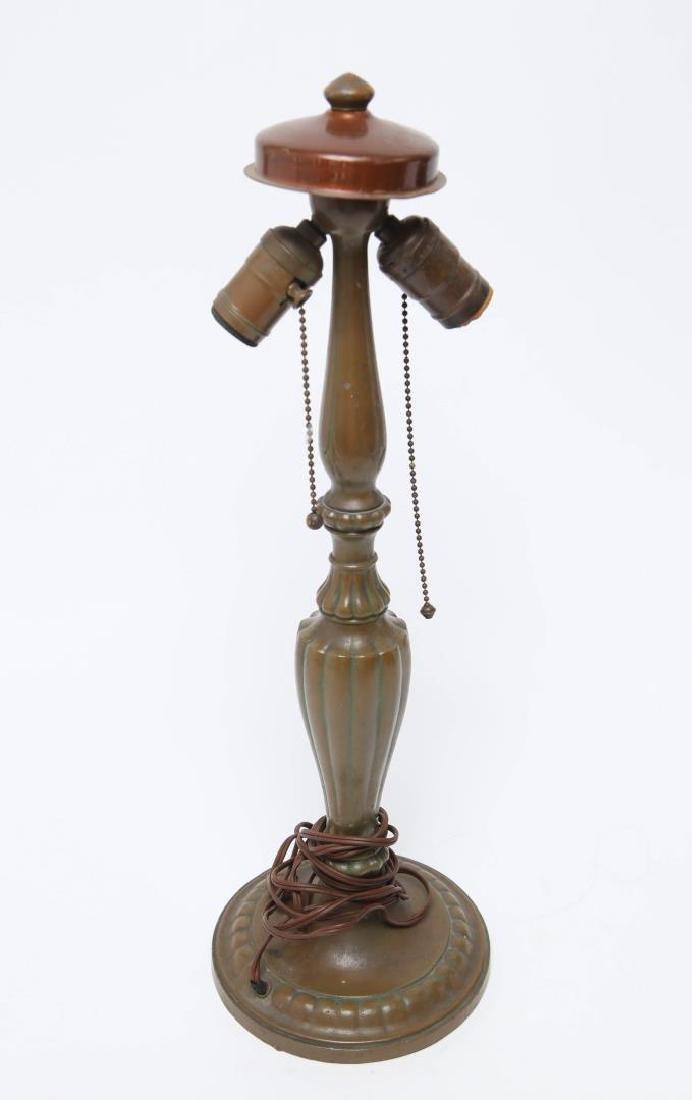 Jefferson Bronze Table Lamp Base Antique Signed