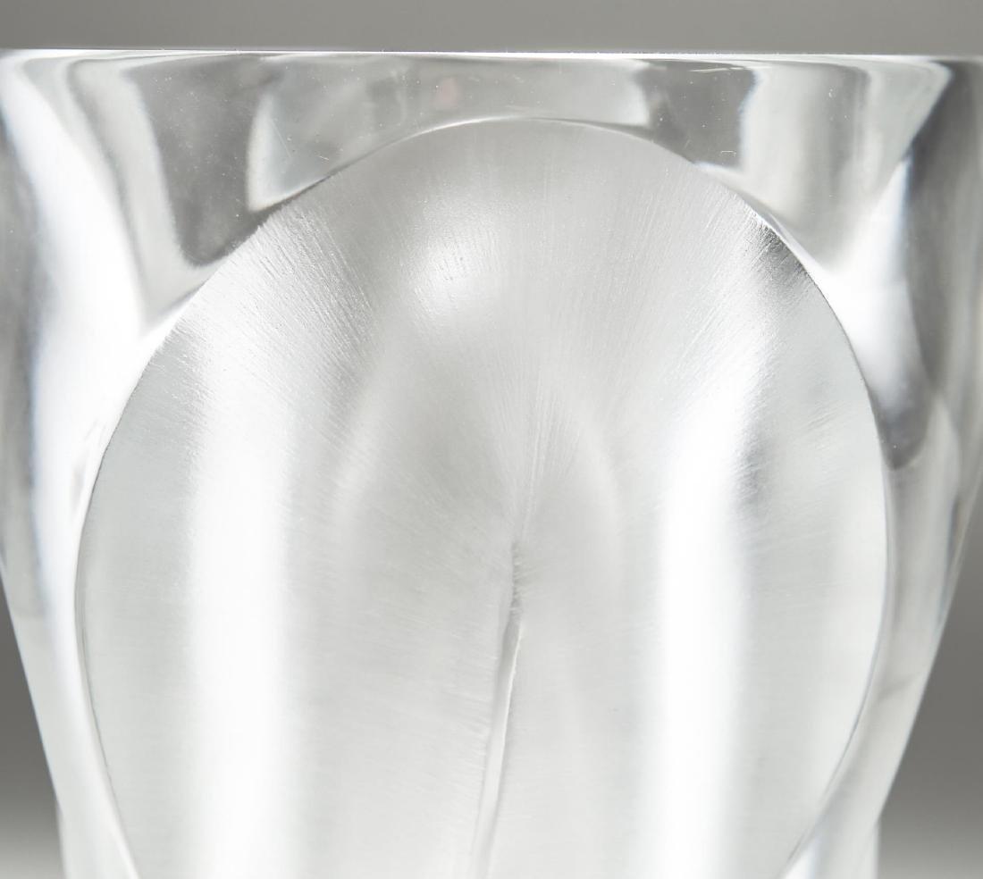 """Lalique Crystal """"Ingrid"""" Vase - 3"""