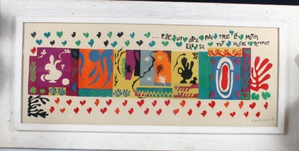 2006: Matisse Elle Vita Parattre Le Matin Lithograph 19