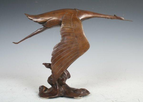 2009: Frederick Bazin Hispano Suiza Bronze Mascot c1919