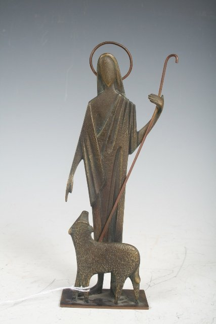 2014: Hagenauer Bronze, Jesus as the Good Shepherd
