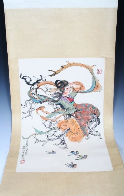 2017: Chinese Scroll Painting Attributed to Chen Shifa