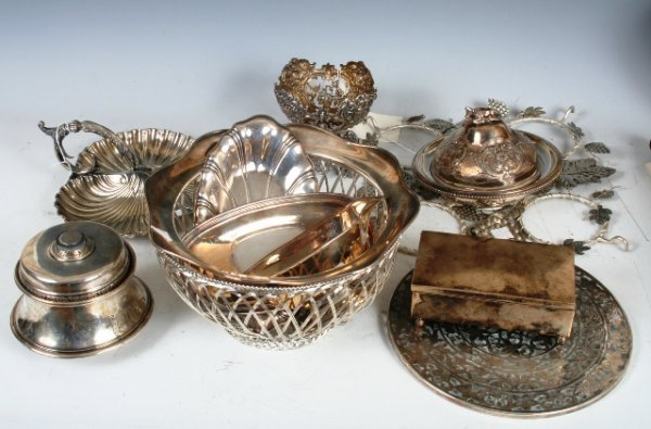 2021: A Goup of 11 Antique Silver Items