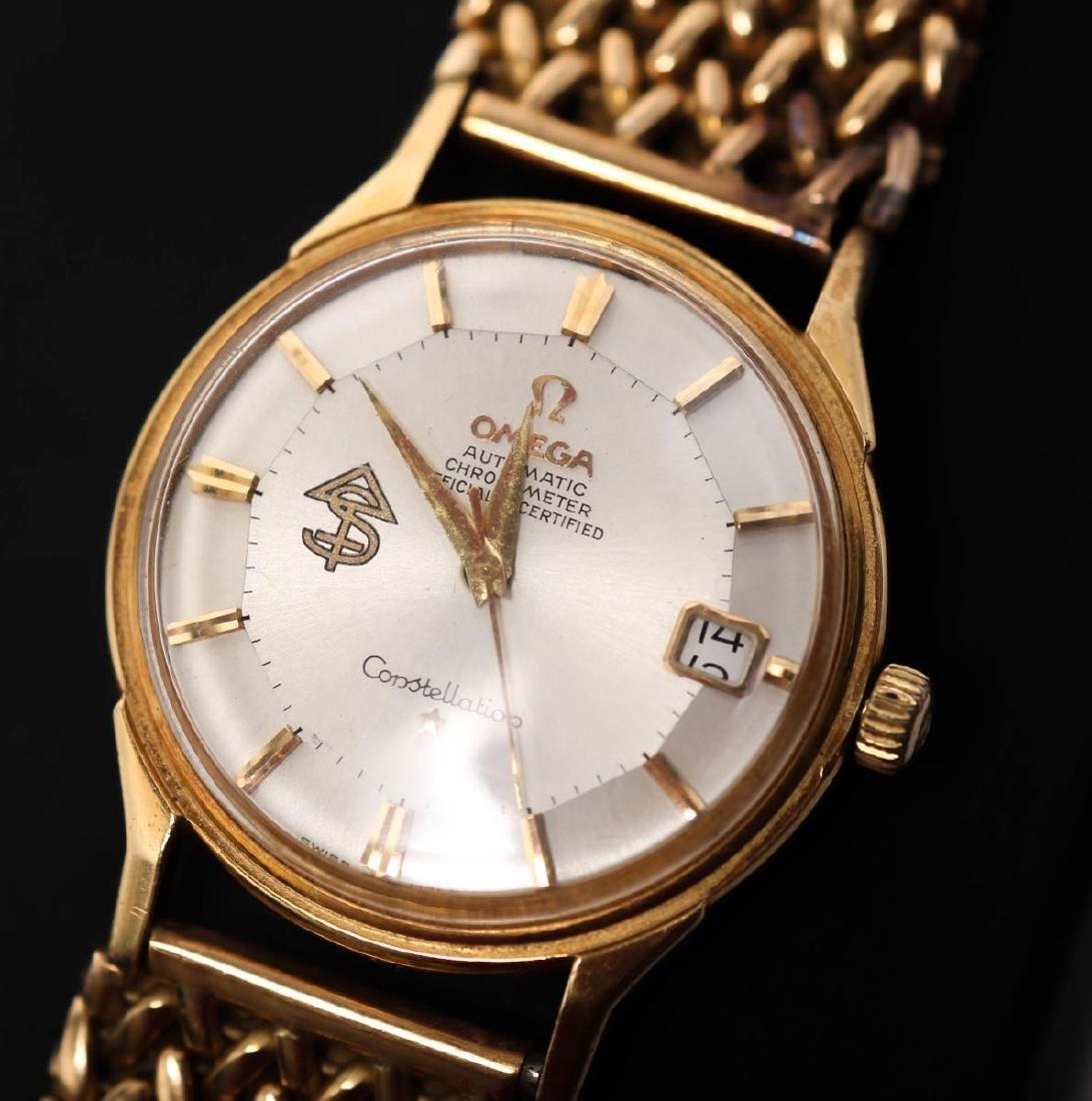 Vintage Omega Constellation Watch, 18K Gold