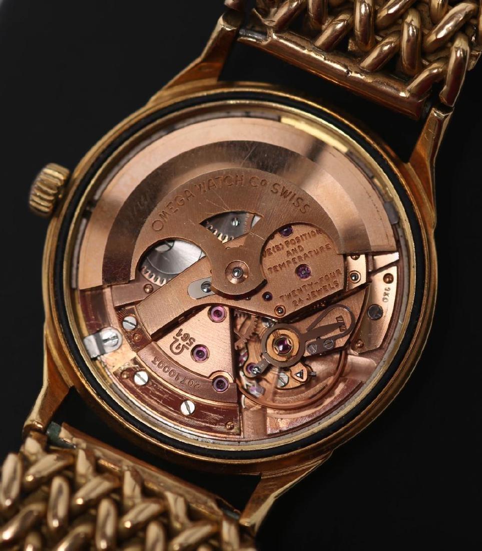 Vintage Omega Constellation Watch, 18K Gold - 3
