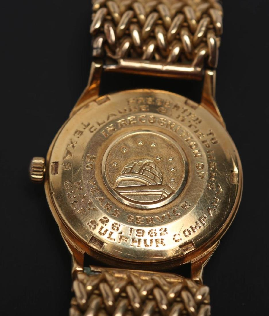 Vintage Omega Constellation Watch, 18K Gold - 7