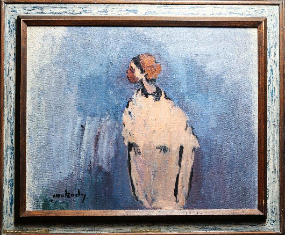 Moshe Mokady (Israeli/Austrian, 1902-1975)- Oil