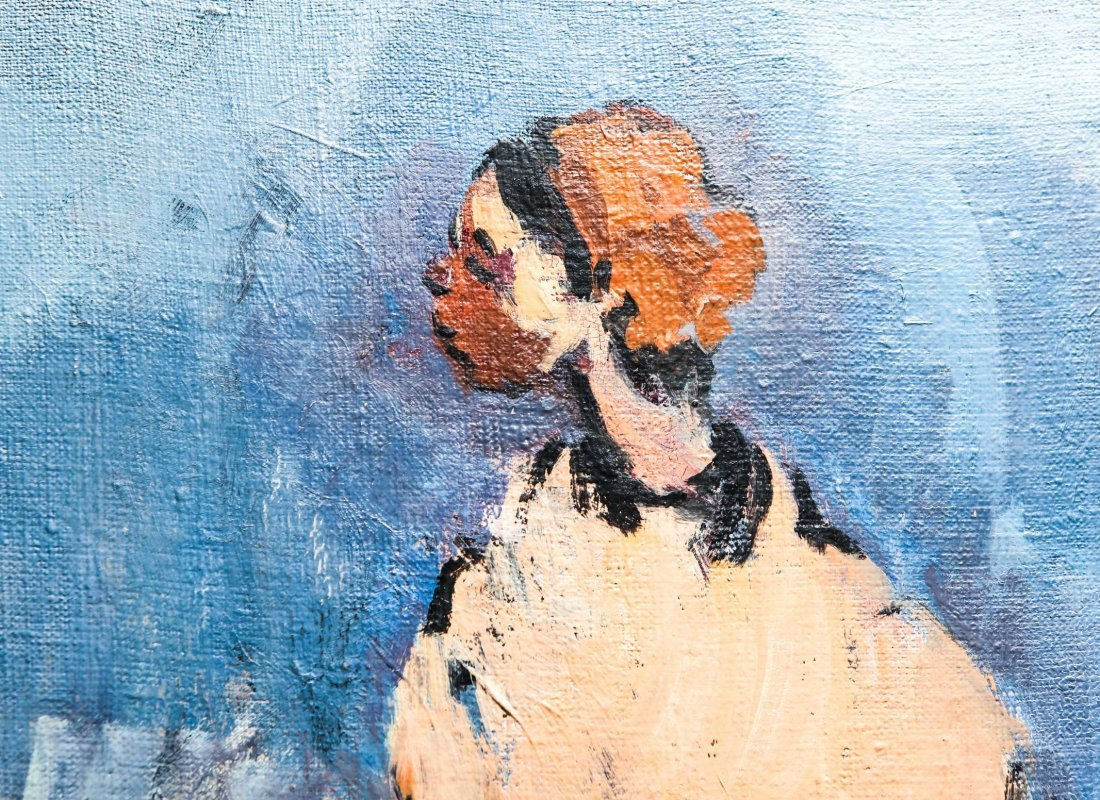 Moshe Mokady (Israeli/Austrian, 1902-1975)- Oil - 4