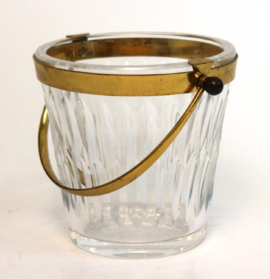 Baccarat Glass Ice Bucket, French Lead Crystal - 3