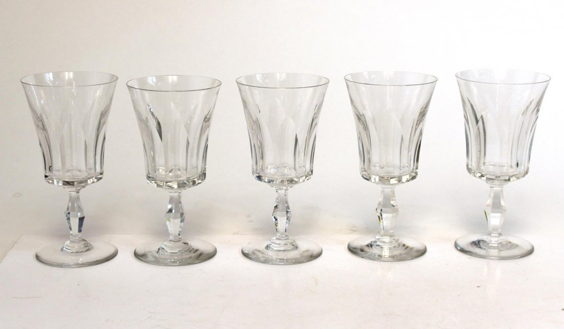 "Baccarat ""Etna"" Port Wine Glasses, Set of 9 - 2"