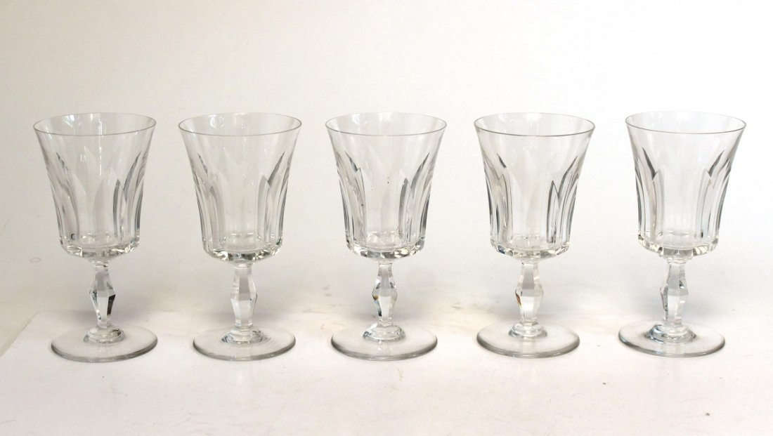 "Baccarat ""Etna"" Port Wine Glasses, Set of 9 - 4"
