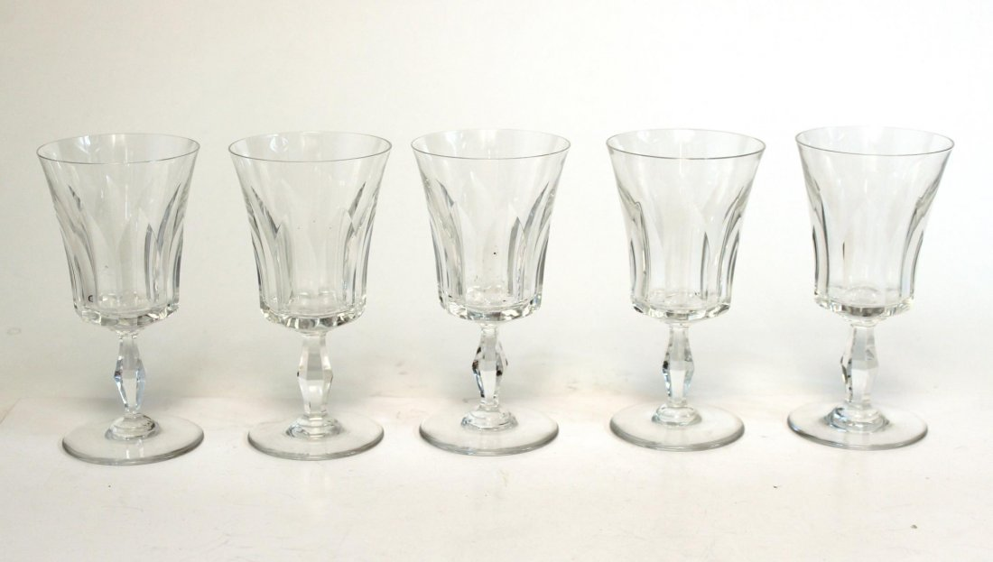 "Baccarat ""Etna"" Port Wine Glasses, Set of 9 - 5"