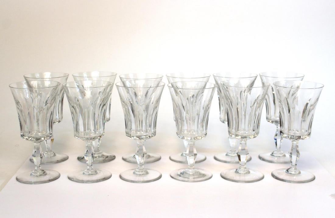 """Baccarat """"Etna"""" Water Glasses, Set of 12"""