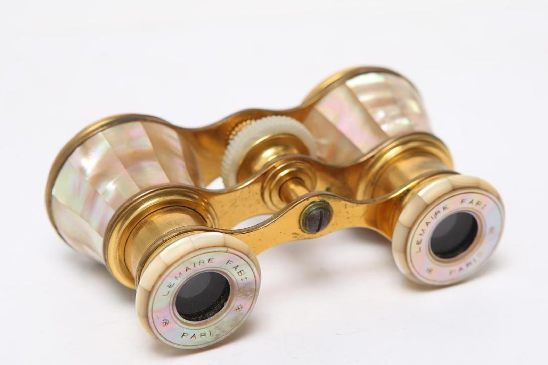 French Lemaire Mother-of-Pearl Opera Glasses